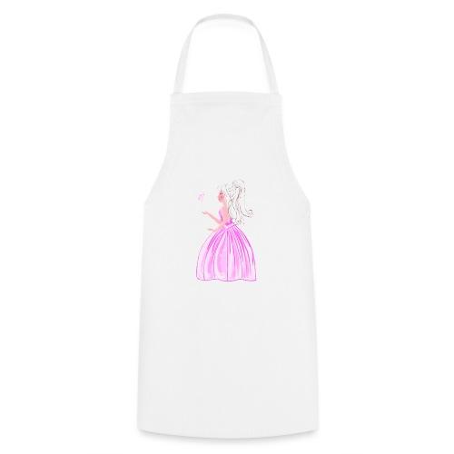 princesse et papillon - Tablier de cuisine