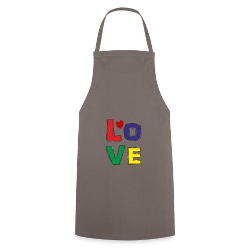 LOVE - Kochschürze
