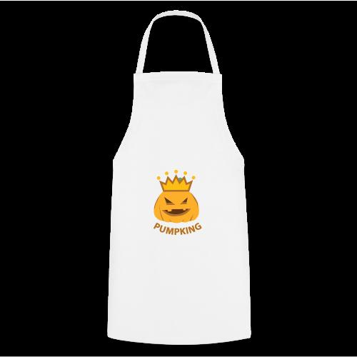 Kürbis König   Kürbisgesicht Krone Halloween - Kochschürze
