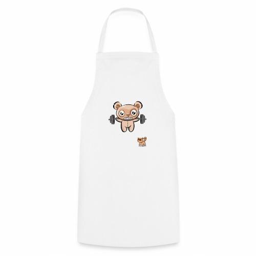 Oso entrenando - Delantal de cocina