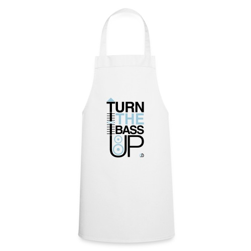 TURN THE BASS UP - Speaker and Music - Cooking Apron