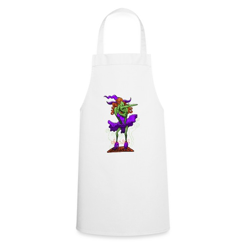 Halloween Sexy Witch - Cooking Apron