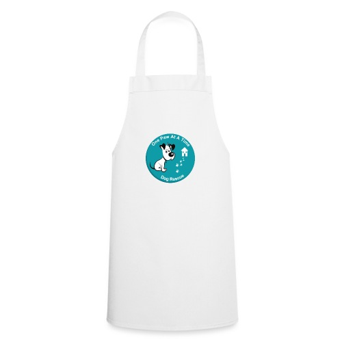 One Paw at a Time Logo - Cooking Apron