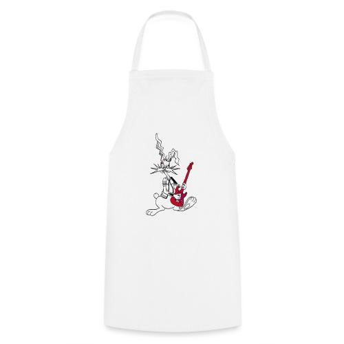 Gitarrenrocker hase kaninchen häschen bunny - Kochschürze