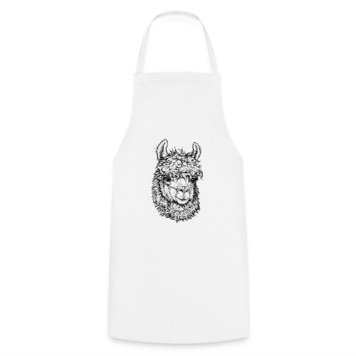 Alpaka - Kochschürze