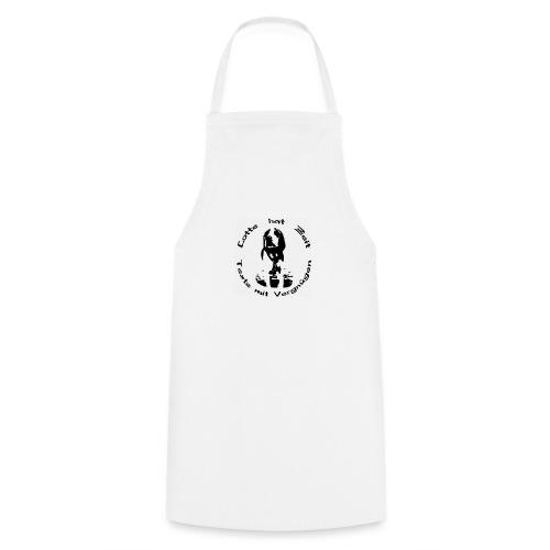 Damen T-Shirt Lotte hat Zeit V-Ausschnitt - Kochschürze