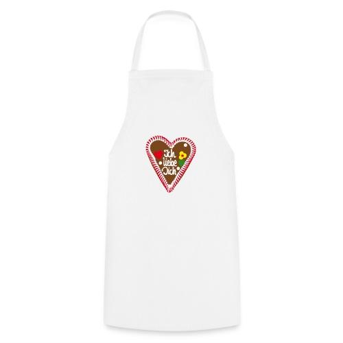 Lebkuchenherz Ich liebe Dich - Kochschürze