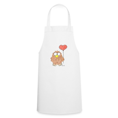 Niki Owl Amor/Love - Cooking Apron