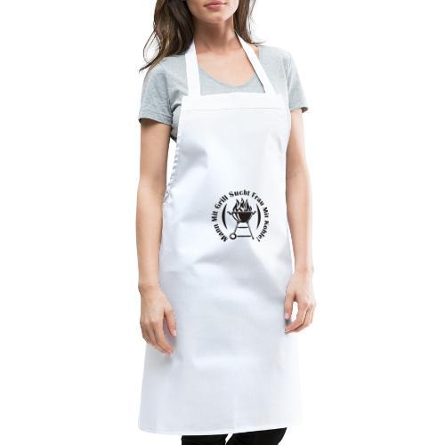 Mann mit Grill sucht Frau mit Kohle - Kochschürze