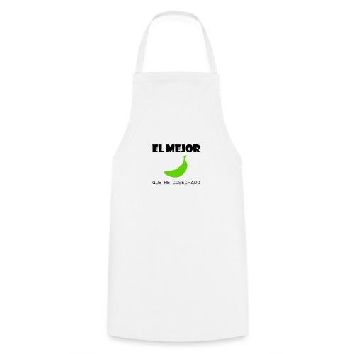 plátano verde - Delantal de cocina
