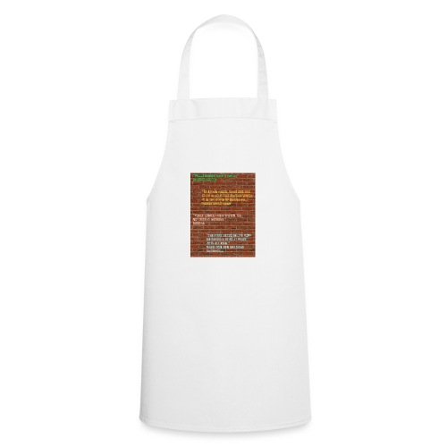 Peace Wall - Cooking Apron