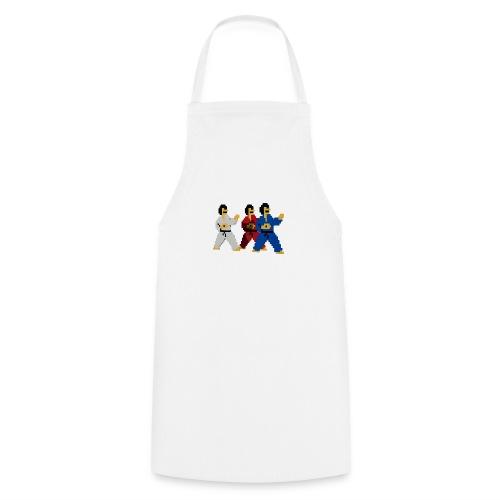 8 bit trip ninjas 1 - Cooking Apron