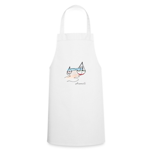 Fiskerbåde 2 - logo - Forklæde