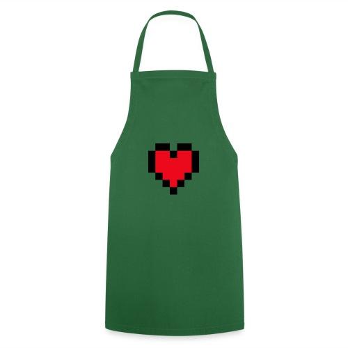 Pixel Heart - Keukenschort