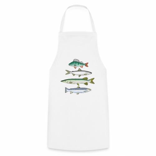 FOUR FISH - Ahven, siika, hauki ja taimen products - Esiliina