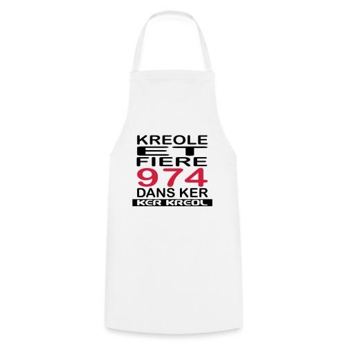 Kreole et Fiere - 974 ker kreol - Tablier de cuisine