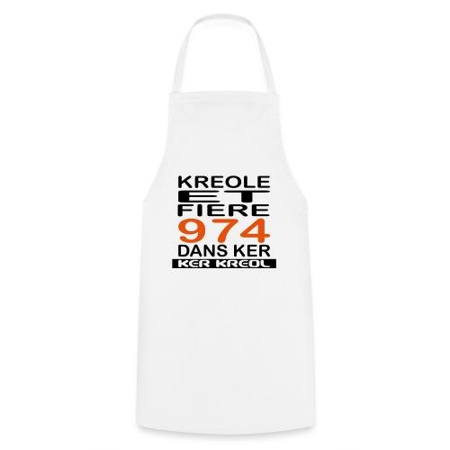 974 ker kreol - Kreole et Fiere - Tablier de cuisine