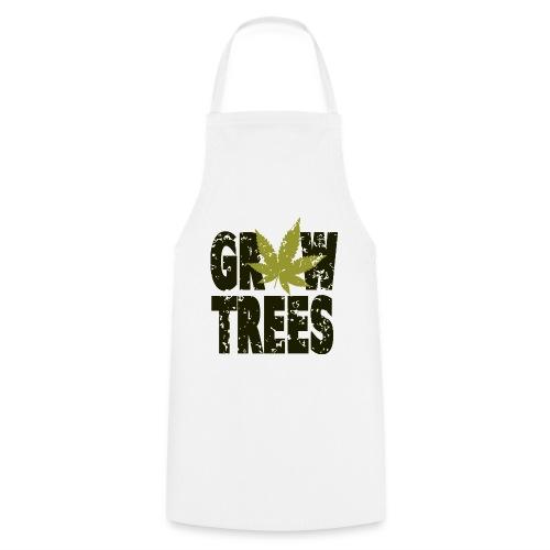Grow Weed Trees Cannabis - Vintage - Kochschürze