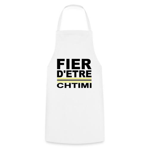 Fier D ETRE Chtimi Noir - Tablier de cuisine