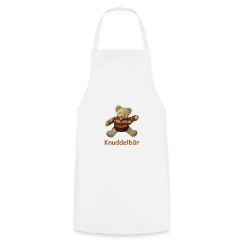 Teddybär Knuddelbär Schmusebär Teddy orange braun - Kochschürze