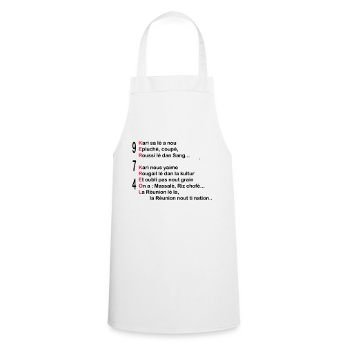 974 Ker Kreol cuisine carri 03 2 - Tablier de cuisine