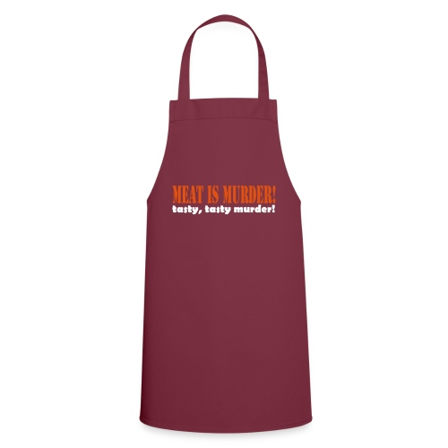 Meat is murder - Cooking Apron