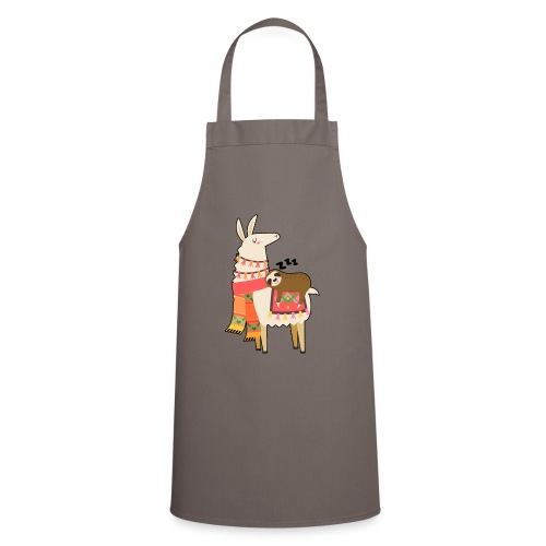Funny Sloth Quotes - Kochschürze