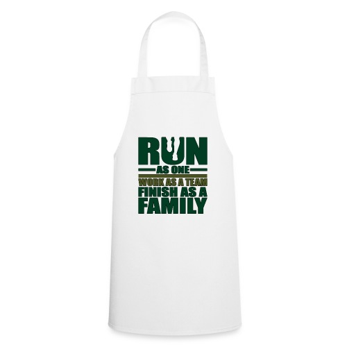 Running Team Gift Run as One Work as a Team - Cooking Apron