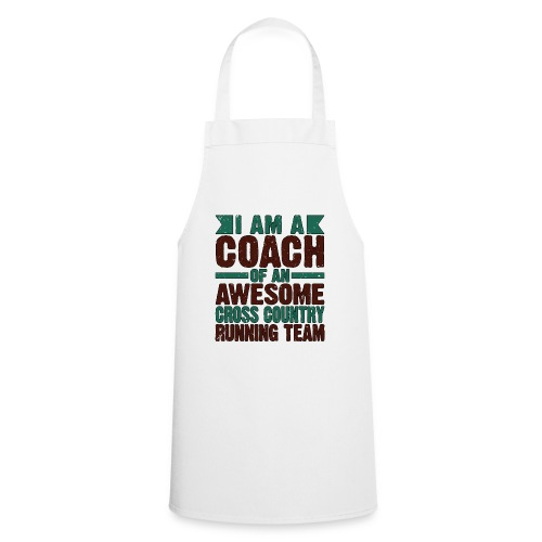 Running Coach Gift Coach of Awesome Cross Country - Cooking Apron