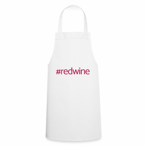 Hashtag red wine - Cooking Apron