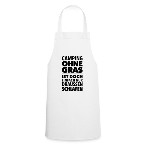 Camping Gras kiffen Marihuana Dope Cannabis Joint - Cooking Apron