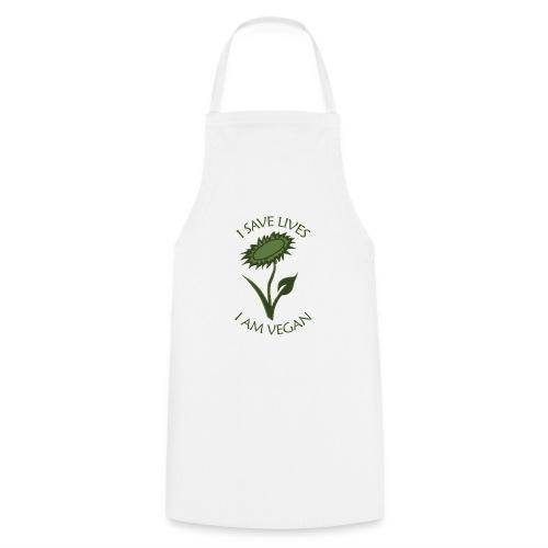 Turnbeutel vegan - Kochschürze