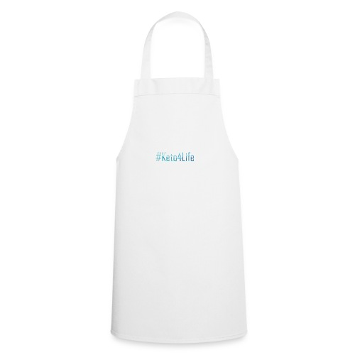 Keto For Life With No Background - Cooking Apron