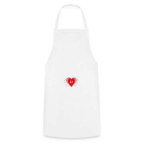 Life is Love - Kochschürze