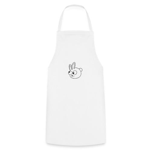 Kinderlijk getekend grappig konijntje - Keukenschort