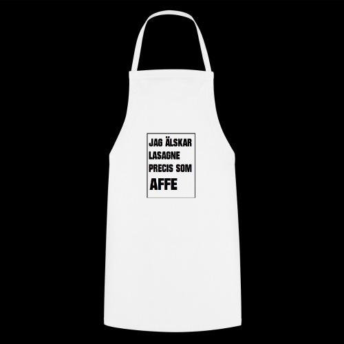 Affe älskar lasagne - Förkläde