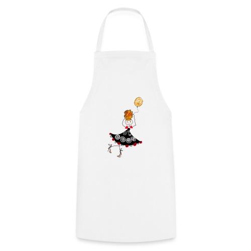 Ballerina con palloncino - Grembiule da cucina