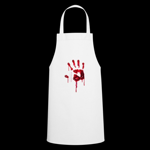 Promote Horror Blood-Soaked Hand - Cooking Apron