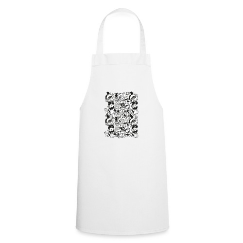 Monsters panic for star - Cooking Apron