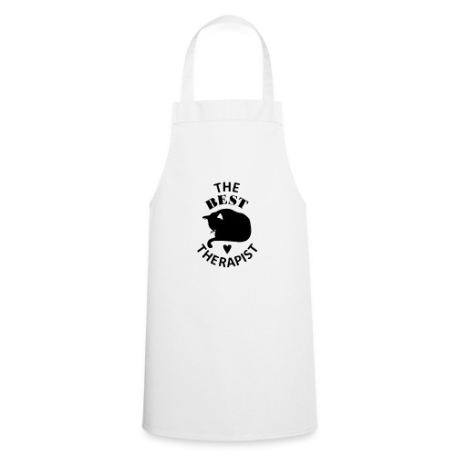 Cat The Best Therapist Shirt - Cooking Apron