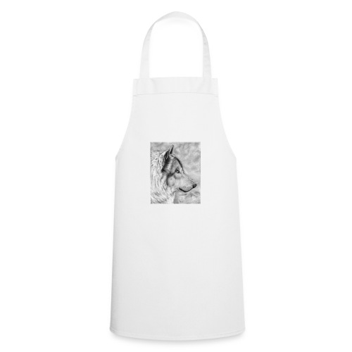 AAAAdibujo_plastica_lobo_jana-jpg - Delantal de cocina