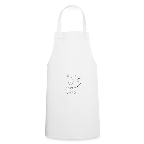 Cats love - Cooking Apron