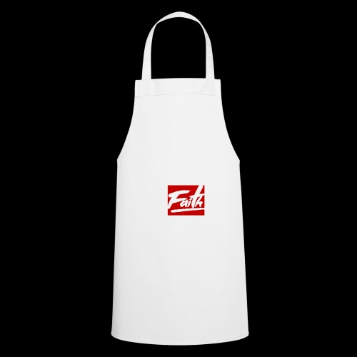 Faith Red - Delantal de cocina
