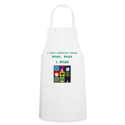 3 most important things - - Cooking Apron