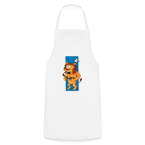 L'ours-lion et l'oiseau - Tablier de cuisine