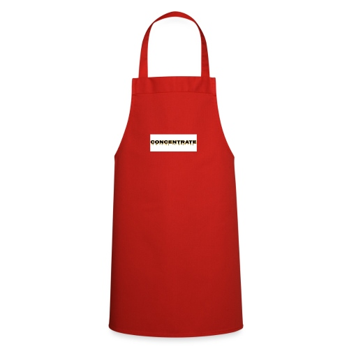 Concentrate on white - Cooking Apron