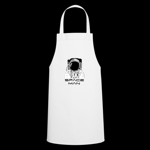 Space man black - Cooking Apron