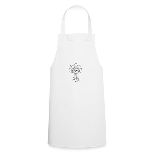 owl dotwork - Cooking Apron