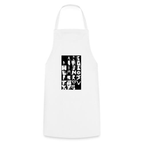 Alphabet Style urbain - Tablier de cuisine
