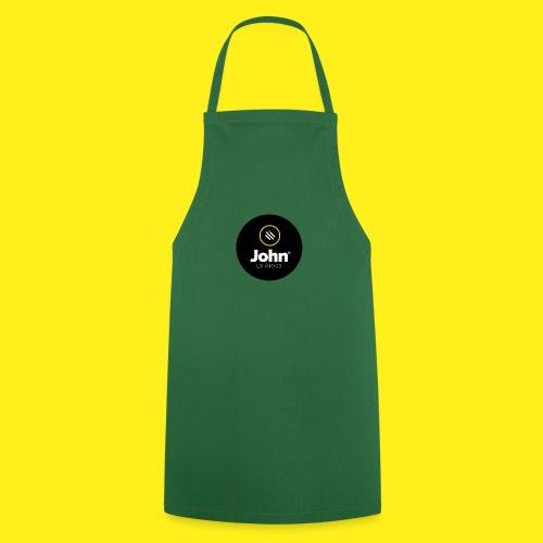 logo john - Delantal de cocina